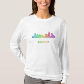 De horizon van Charlotte van de regenboog T Shirt
