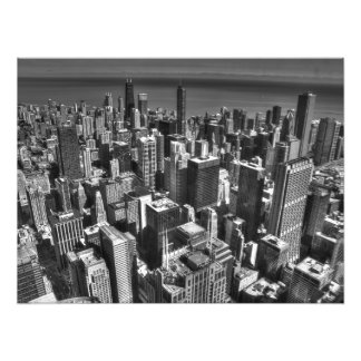 De Horizon van Chicago Foto