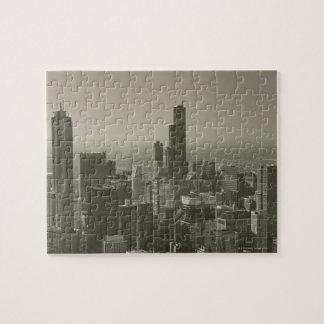 De Horizon van Chicago, John Hancock Center Skydec Legpuzzel