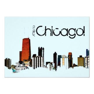 De Horizon van Chicago Kaart