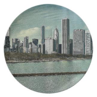 De Horizon van Chicago Party Borden