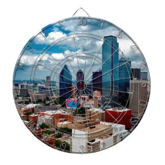 De Horizon van Dallas Texas Dartbord