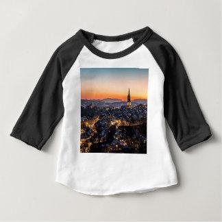 De Horizon van de Nacht van Bern Zwitserland Baby T Shirts