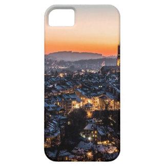 De Horizon van de Nacht van Bern Zwitserland Barely There iPhone 5 Hoesje