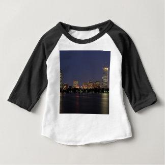 De Horizon van de Nacht van Boston Baby T Shirts