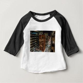 De Horizon van de Nacht van Calgary Baby T Shirts