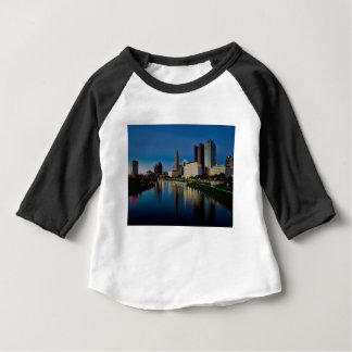 De Horizon van de Nacht van Columbus Baby T Shirts