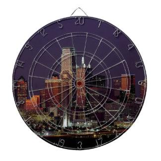De Horizon van de Nacht van Dallas Dartbord