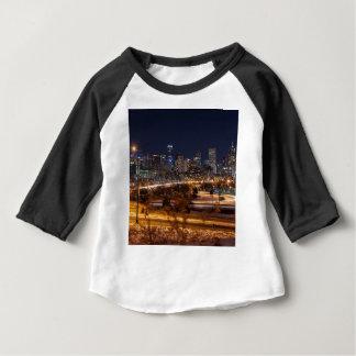 De Horizon van de Nacht van Denver Baby T Shirts