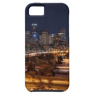 De Horizon van de Nacht van Denver Tough iPhone 5 Hoesje