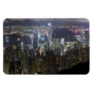 De Horizon van de Nacht van Hong Kong Magneet