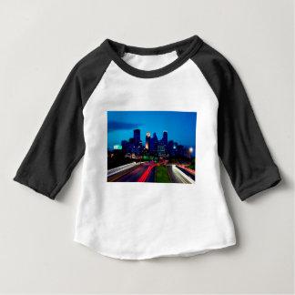 De Horizon van de Nacht van Minneapolis Baby T Shirts