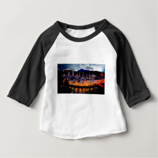 De Horizon van de Nacht van Salzburg Baby T Shirts