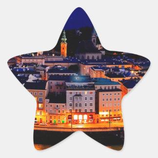De Horizon van de Nacht van Salzburg Ster Sticker
