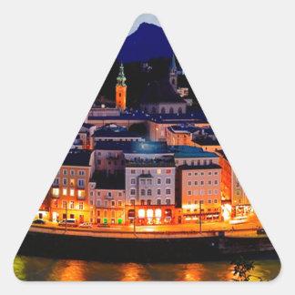 De Horizon van de Nacht van Salzburg Sticker
