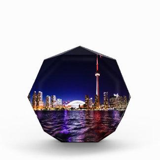 De Horizon van de Nacht van Toronto Acryl Prijs