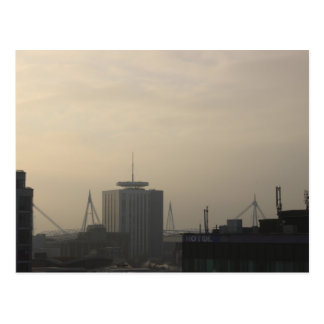 De Horizon van de Stad van Cardiff Briefkaart