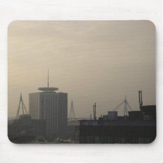 De Horizon van de Stad van Cardiff Muismatten