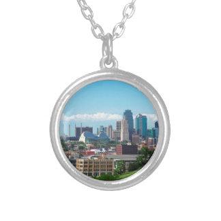De Horizon van de Stad van Kansas Zilver Vergulden Ketting