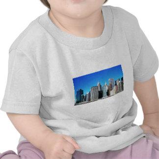 De Horizon van de Stad van New York T Shirts
