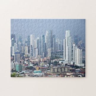De Horizon van de Stad van Panama Puzzel