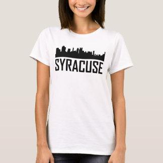De Horizon van de Stad van Syracuse New York T Shirt