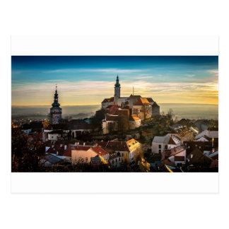 De Horizon van de Tsjechische Republiek Briefkaart
