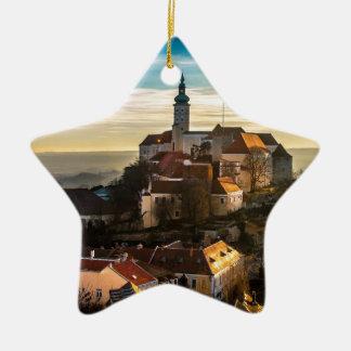 De Horizon van de Tsjechische Republiek Keramisch Ster Ornament