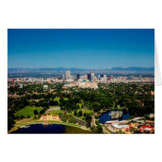 De Horizon van Denver Kaart