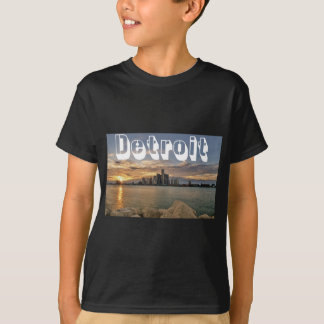De Horizon van Detroit T Shirt