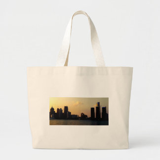 De Horizon van Detroit Canvas Tas