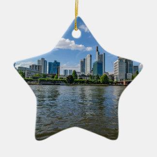 De Horizon van Frankfurt Keramisch Ster Ornament