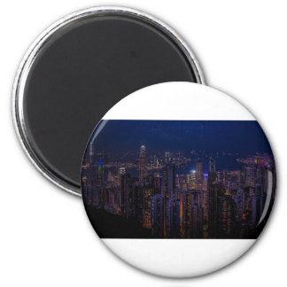 De Horizon van Hong Kong Magneet