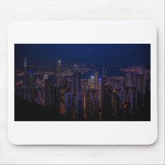 De Horizon van Hong Kong Muismatten