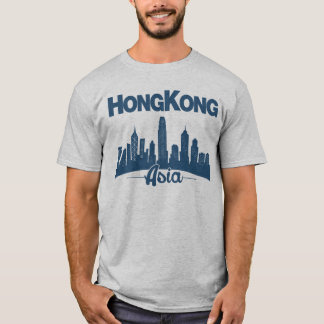 De Horizon van Hong Kong T Shirt