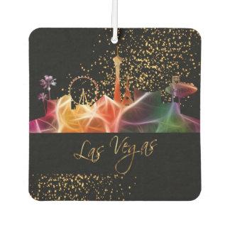 De Horizon van Las Vegas in Psychedelische Kleuren Luchtverfrisser