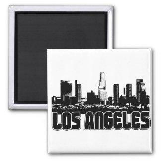 De Horizon van Los Angeles Vierkante Magneet