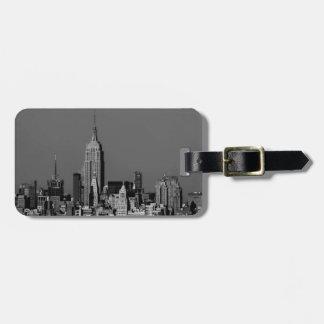 De Horizon van Manhattan van de Stad van New York Kofferlabels