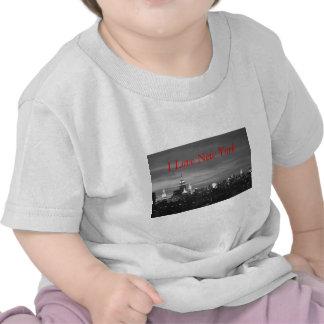 De Horizon van New York T Shirts