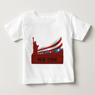 De Horizon van New York T Shirt