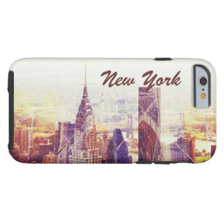 De Horizon van New York uptown, NYC Tough iPhone 6 Hoesje