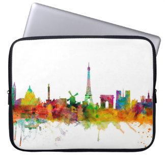 De Horizon van Parijs Frankrijk Laptop Sleeve