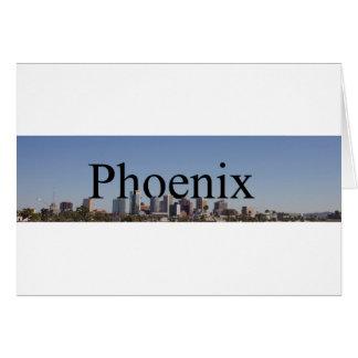 De Horizon van Phoenix met Phoenix in de Kaart van