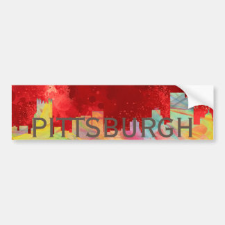 DE HORIZON VAN PITTSBURGH PENNSYLVANIA WB1- BUMPERSTICKER