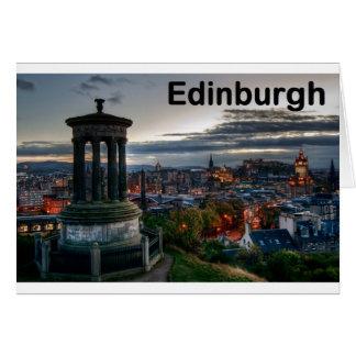 De horizon van Schotland Edinburgh (St.K) Briefkaarten 0