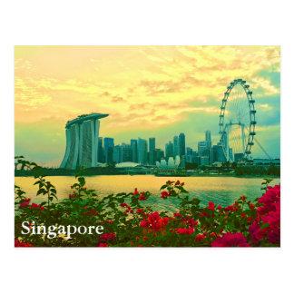 De Horizon van Singapore Briefkaart
