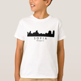 De Horizon van Sofia Bulgarije T Shirt