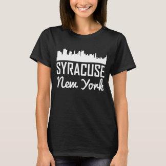 De Horizon van Syracuse New York T Shirt