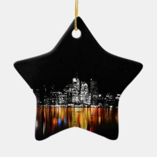 De Horizon van Toronto Keramisch Ster Ornament