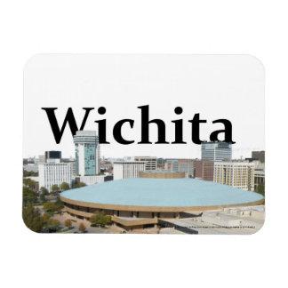 De Horizon van Wichita Kansas met Wichita in de Magneet